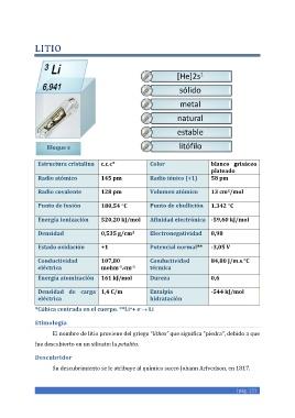 Page 131 Los Elementos Químicos Un Manual Extenso A Doadrio